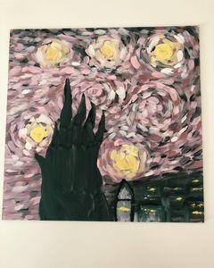 Inspired by Van Gogh.