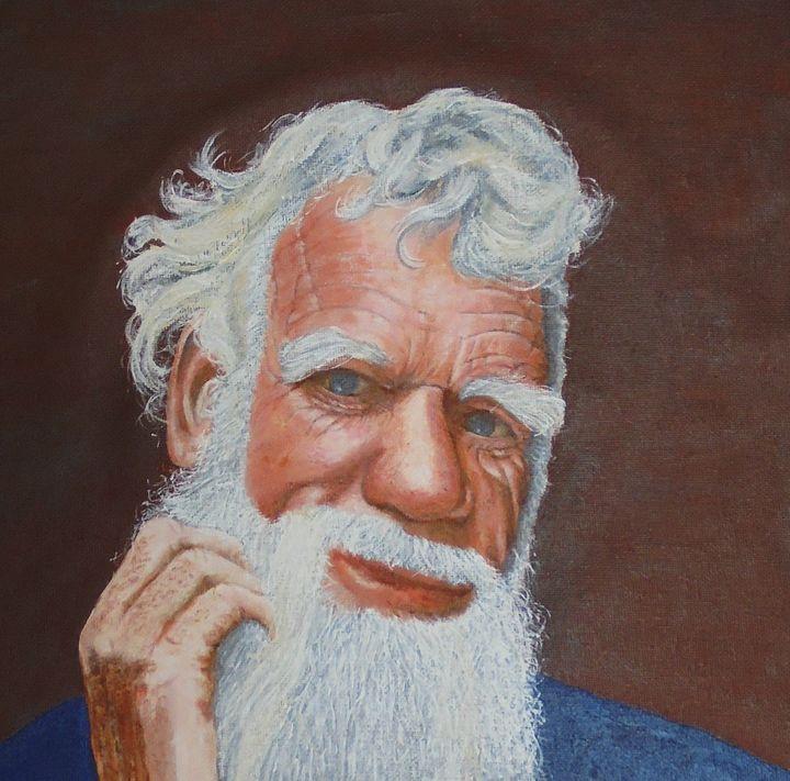 OLD MAN - ARTBYKERINFREEMAN