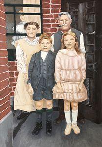 HARRY'S FAMILY 1926 - ARTBYKERINFREEMAN
