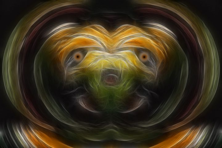 Here Boy - Abstract Digital Fine Art