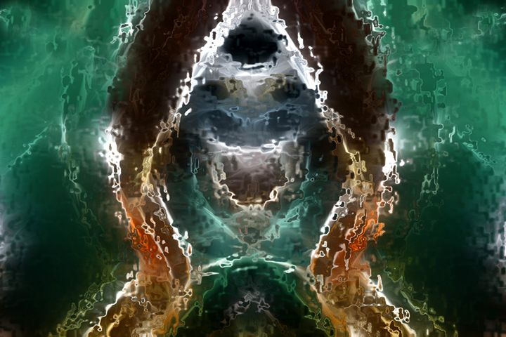 Reality Seeking Itself - Abstract Digital Fine Art