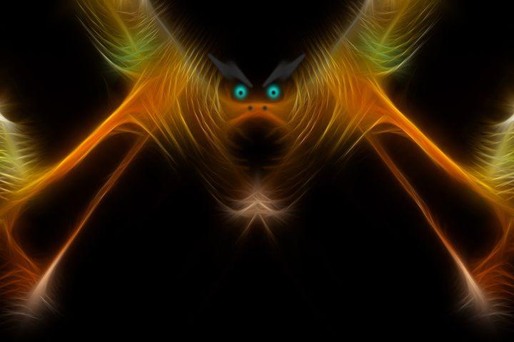 Bat Crap Crazy - Abstract Digital Fine Art