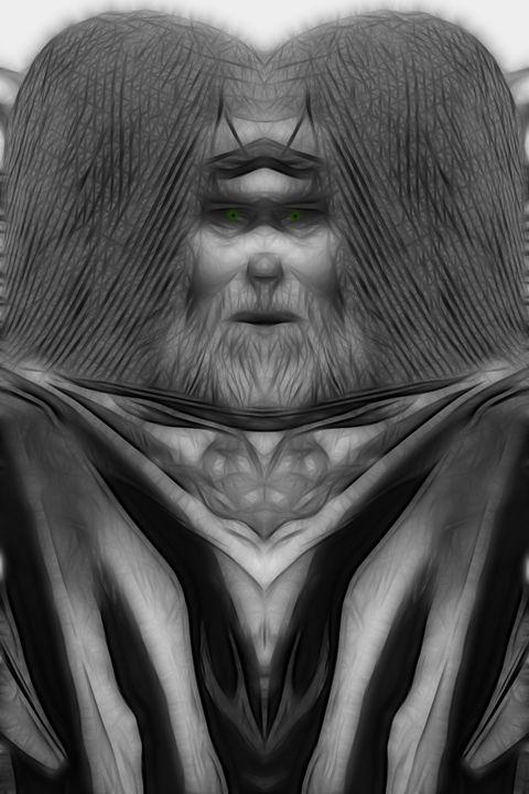 I Speak, You Listen - Abstract Digital Fine Art