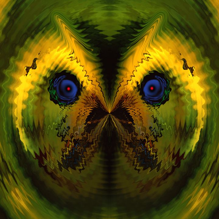 Birds Eye View - Abstract Digital Fine Art
