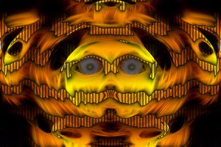 Speechless - Abstract Digital Fine Art