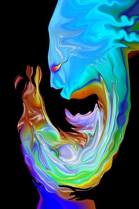 Uncertain Origin - Abstract Digital Fine Art