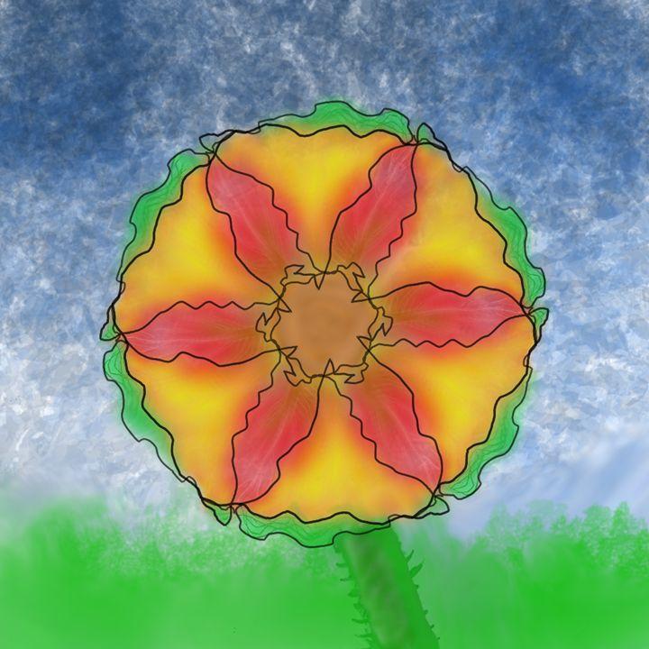 Odd Flower - Digital Paintings and Drawings