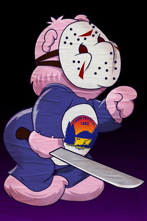 Jason Scare Bear - Black Draws Stuff