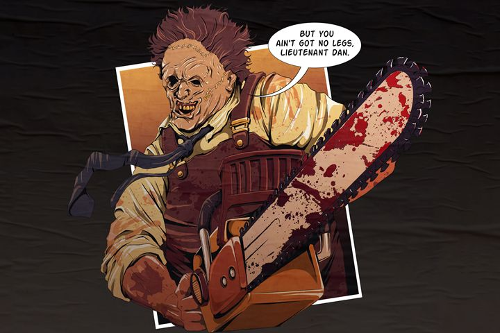 Lt Dan Leatherface - Black Draws Stuff