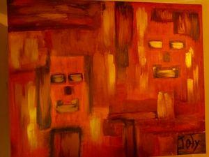 Mask/masque - Joly Painting