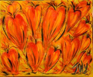 Saint Valentine/St Valentin - Joly Painting