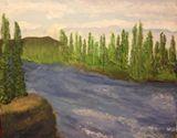 16x20 acrylic canvas painting