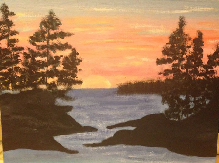sunset night - Leanne Foster