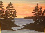 9x12 sunset painting