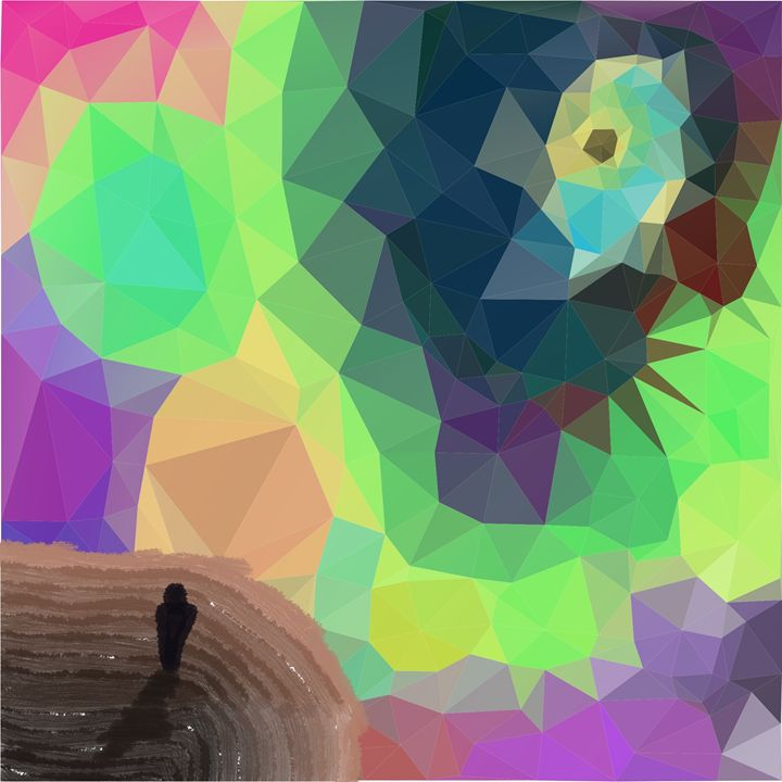 Triangle Sky - Psithes Art