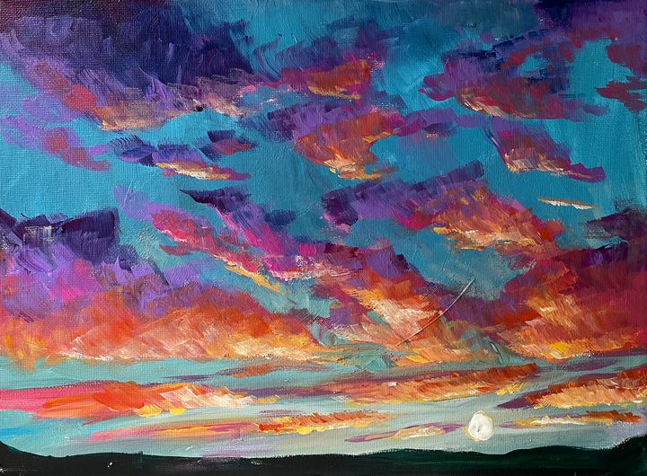 Sunset - Andy's Art