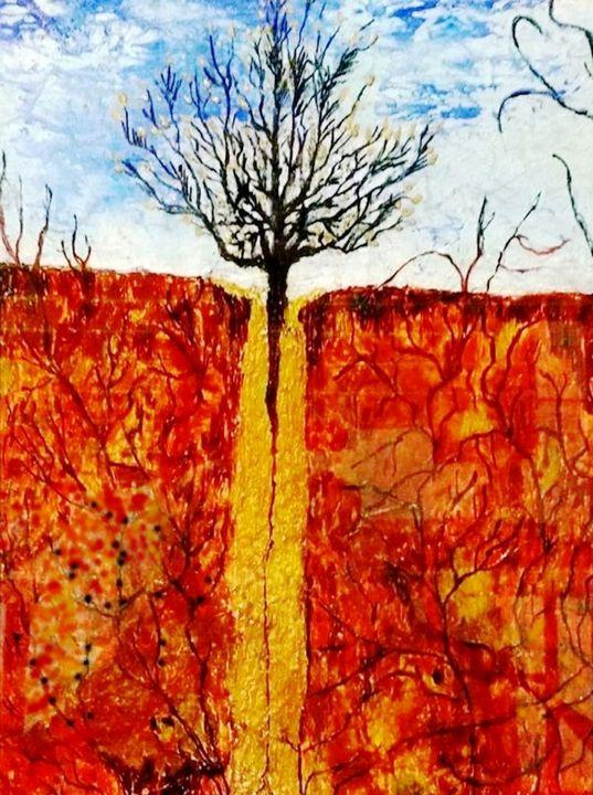 Life Is Precious - Worx Of Wax -Encaustic Art