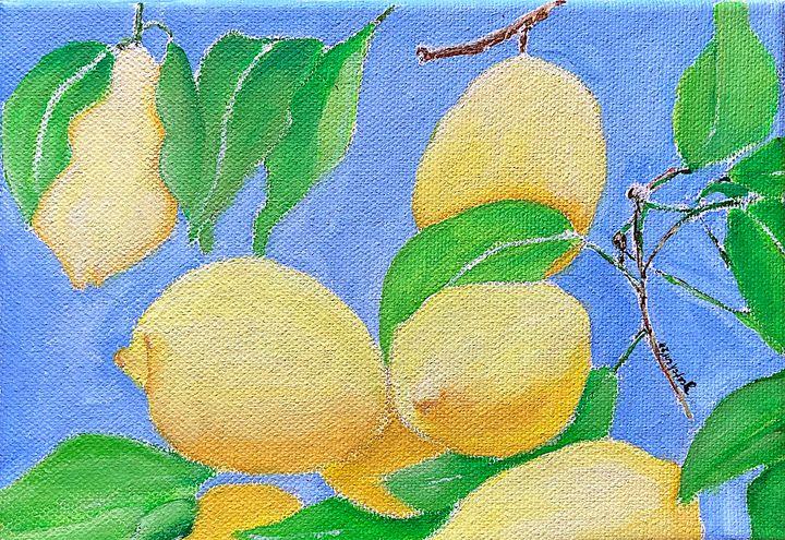 Lemons in Blue - 𝓦𝓲𝓵𝓭 𝓢𝓸𝓾𝓵 ꨄ