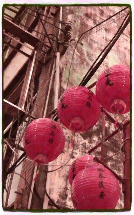 The Red Lanterns - Lanjee