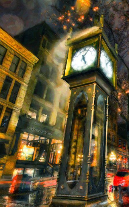 Gastown Steam Clock - Lanjee