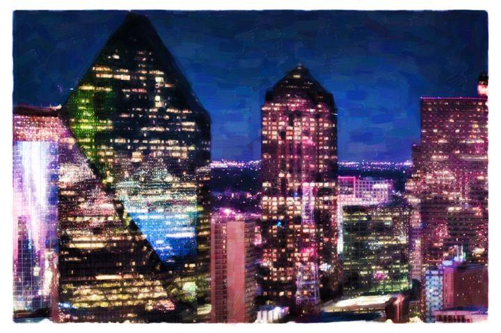 Dallas Skyscrapers - Lanjee