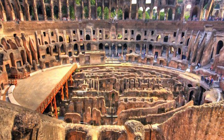 Coliseum in Rome - Lanjee