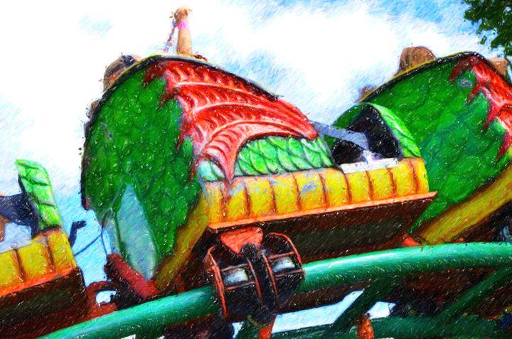 Chinese Dragon Ride 4 - Lanjee