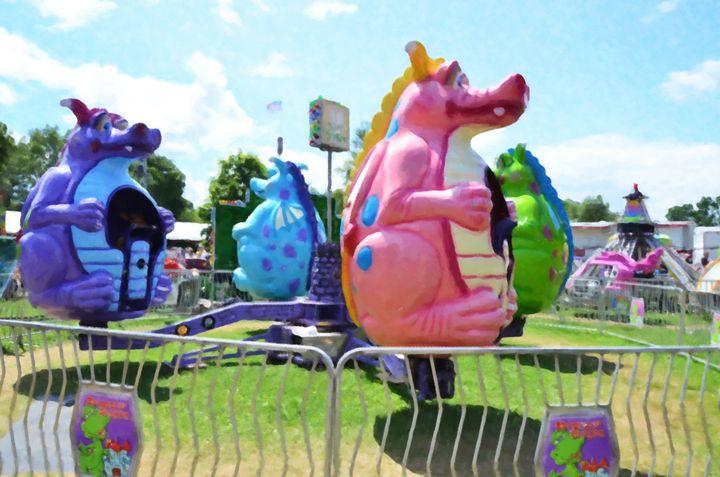 Dizzy dragon ride - Lanjee