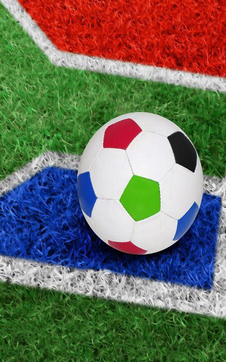 Color Full Soccer Ball - Lanjee