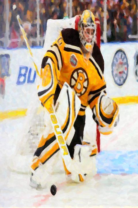 Ice hockey goalie - Lanjee