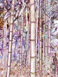 Bamboo Texture - Lanjee