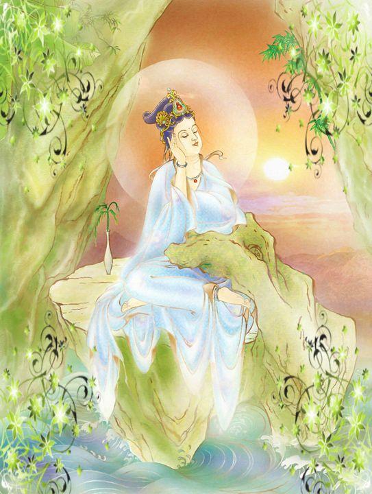 Life-extending Kuan Yin - Lanjee