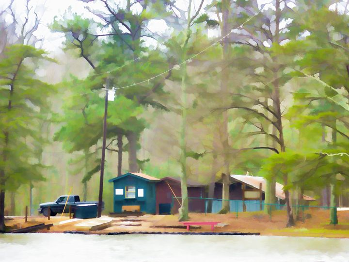 Lake Cheaha picnic area - Lanjee