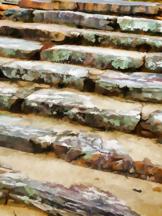 Concrete steps - Lanjee