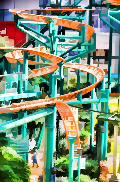 Mall Of America Roller Coasters - Lanjee