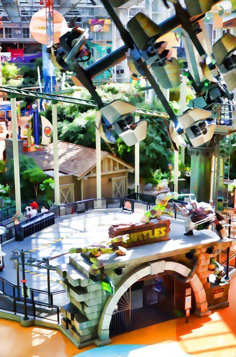 ShellShock Ride at Nickelodeon Unive - Lanjee