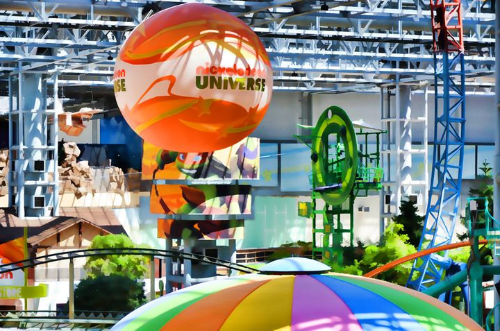 Nickelodeon Universe indoor amusemen - Lanjee