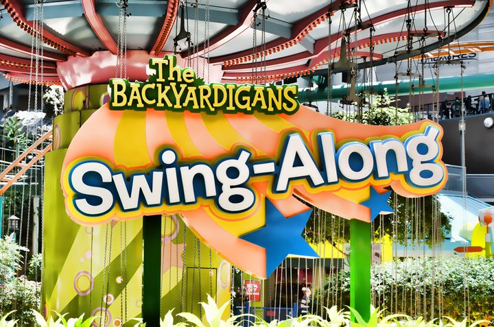 Backyardigans Swing-A-Long - Lanjee
