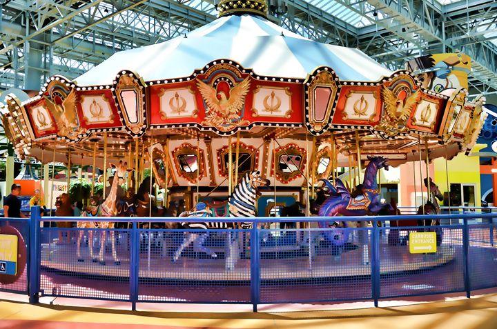 Carousel inside the Mall - Lanjee