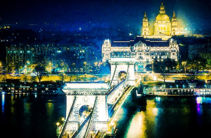 The Szechenyi Chain Bridge - Lanjee