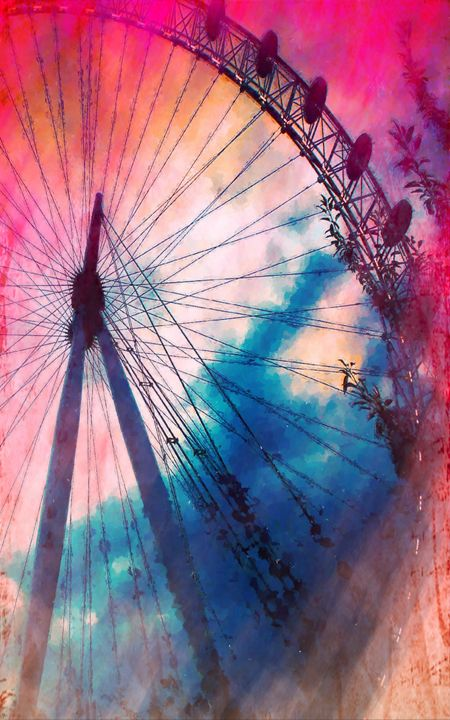 A big wheel roller coaster - Lanjee