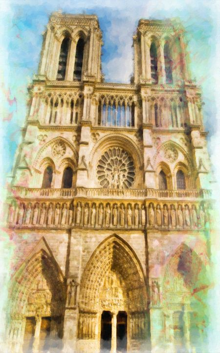 Notre Dame de Paris - Lanjee