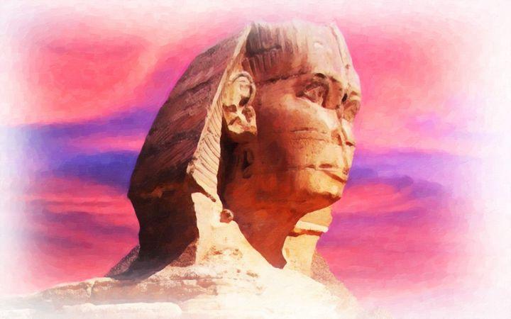 Egyptian sphinx - Lanjee