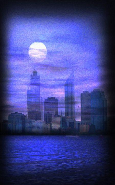 City on night view - Lanjee