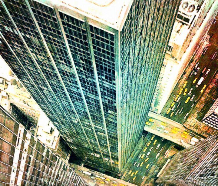 Modern skyscrapers - Lanjee