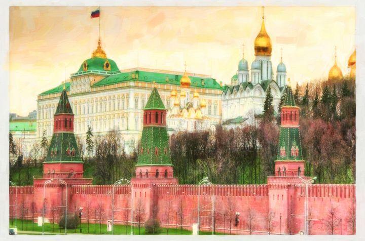 Moscow Kremlin - Lanjee