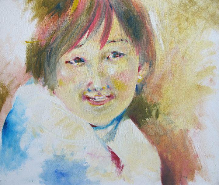 Asian girl - tmk egocoro