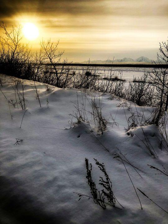 Midday Alaska Sunset - Heide M. Goodermote
