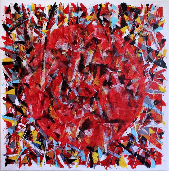 Awakening to red - Greg Bryce Fine Artist