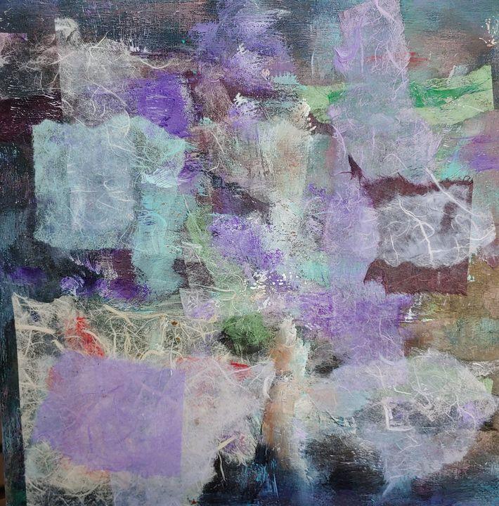 Floating Lavender - Rose Cofield Art
